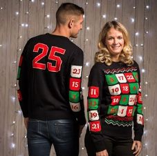 3D ADVENT CALANDER JUMPER WITH POCKETS